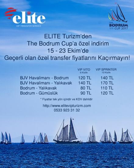 Elite Turizm'den The Bodrum Cup'a özel indirim